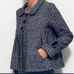 Vintage Kaity swing coat bow jacket blazer M